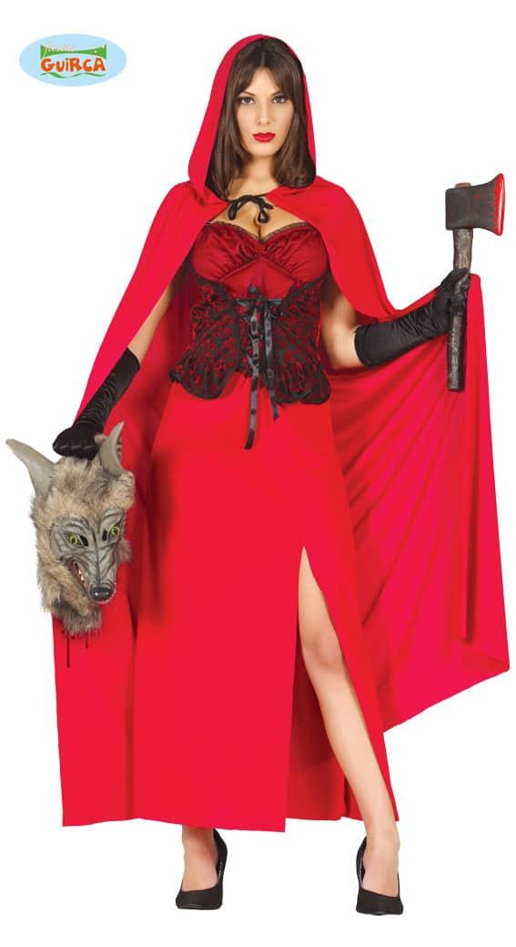 Womens Little Red Riding Hood Wolf Hunter Costume ~ Medium