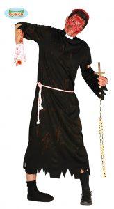 Mens Halloween Zombie Priest / Vicar Costume