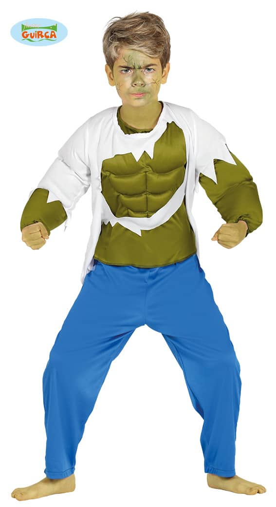 Children's Halloween Incredible Hulk Costume 7-9