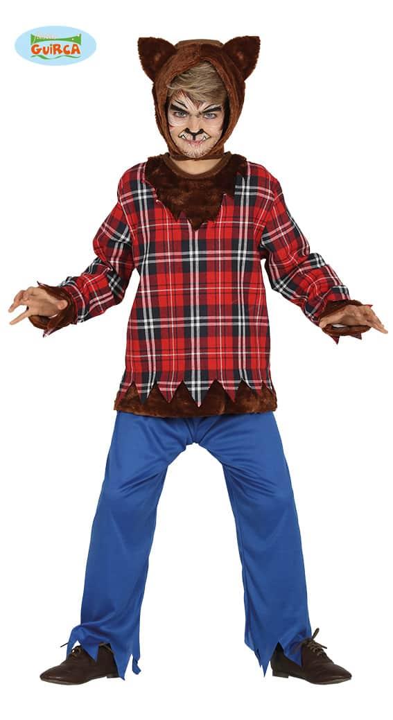 Childrens Werewolf Costume 7-9