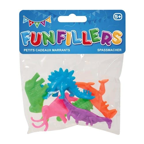 Dinosaur Party Bag Fillers Pack of 6