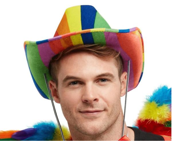 Rainbow Pride Stetson