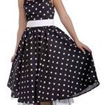 1950s Ladies Cutie Black Dress