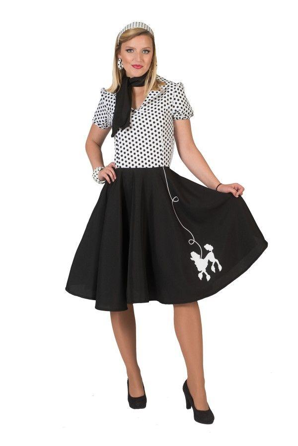 1950s Ladies Poodle Dress