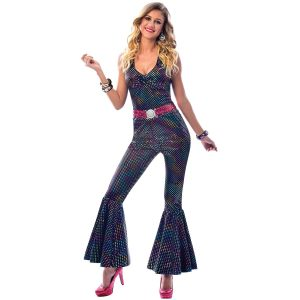 Adult Disco Diva Costume Dress Size Large