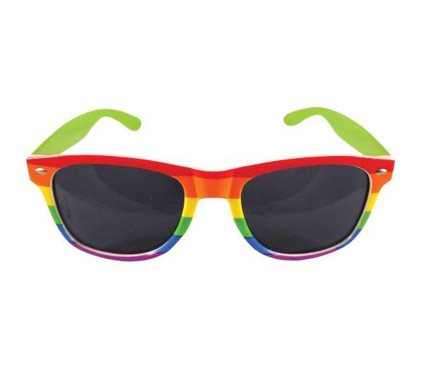 Rainbow Dark Lens Glasses - Adult Size