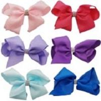 Plain Coloured Large Hair Bow,