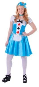 Alice In Wonderland Style Teen Costume
