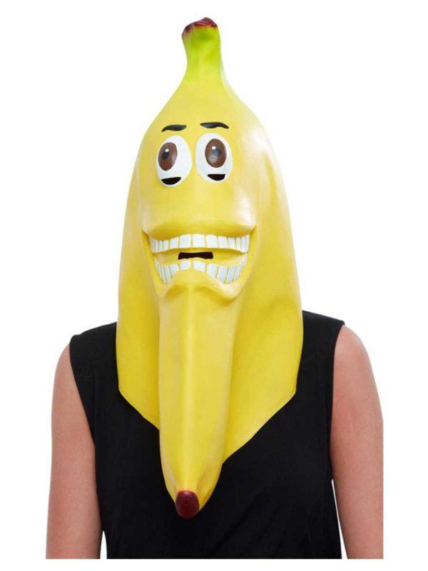 Latex Yellow Banana Mask