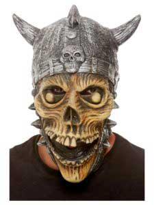 Viking Skeleton Latex Mask