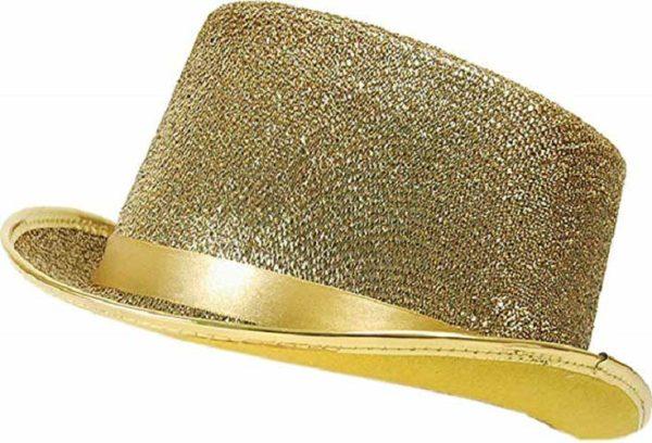 Gold Lurex Top Hat