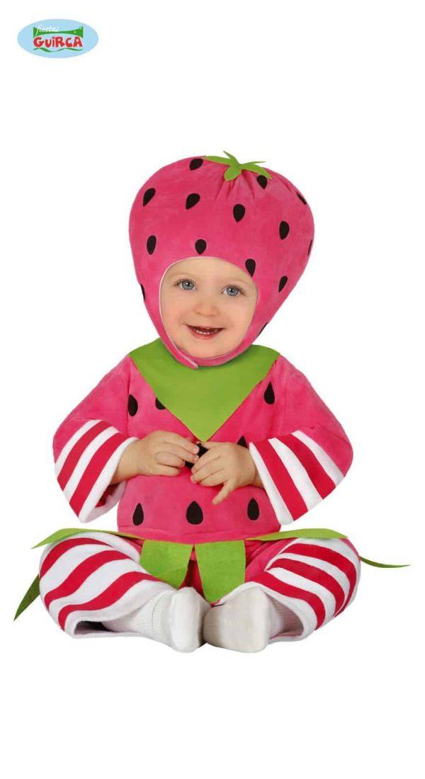 Childrens Little Strawberry Costume