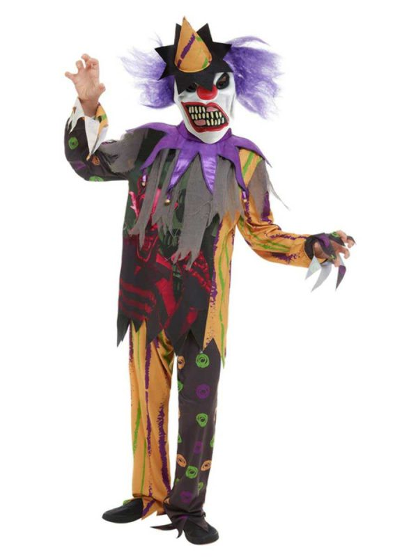 Boys Scary Clown Costume