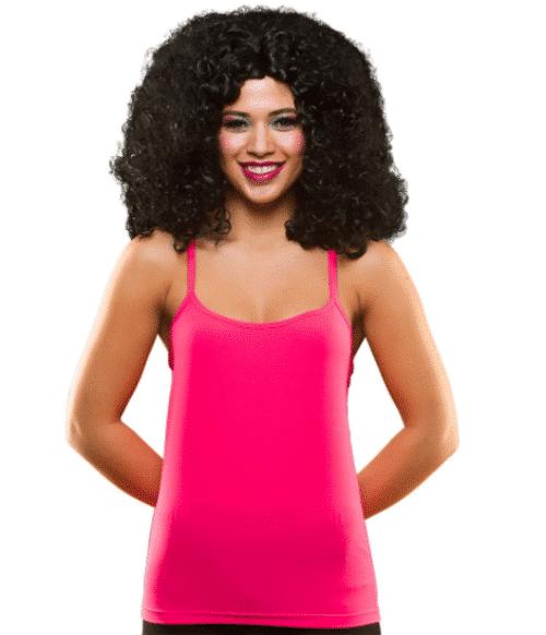 1980s Pink Vest Top