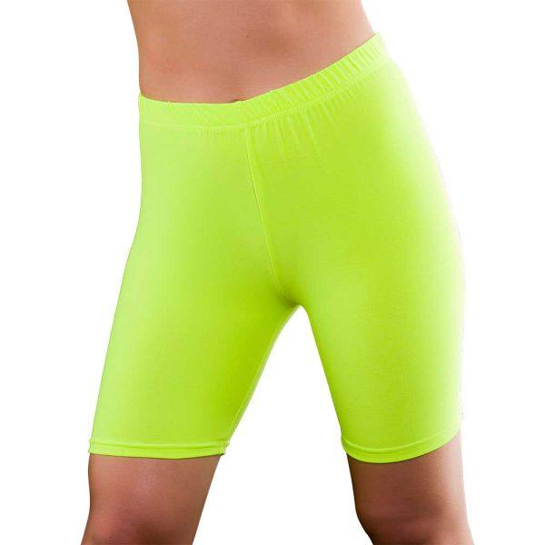 1980s Yellow Cycling Shorts