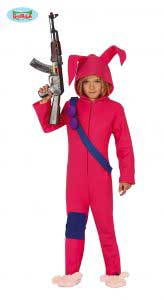 Childrens Bunny Soldier Costume