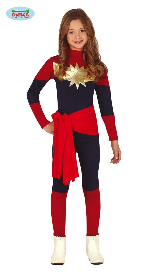 Girls Captain America 10-12
