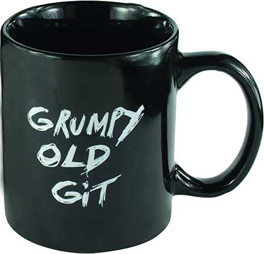 Grumpy Git Gift Mug