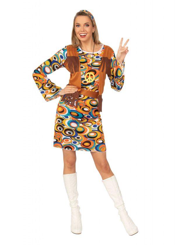 Womens Hippy or MOD Dress Medium