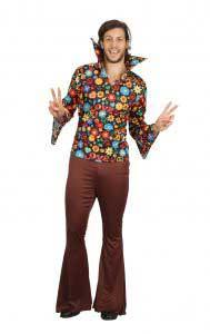 1960s Mens Hippy Man Costume
