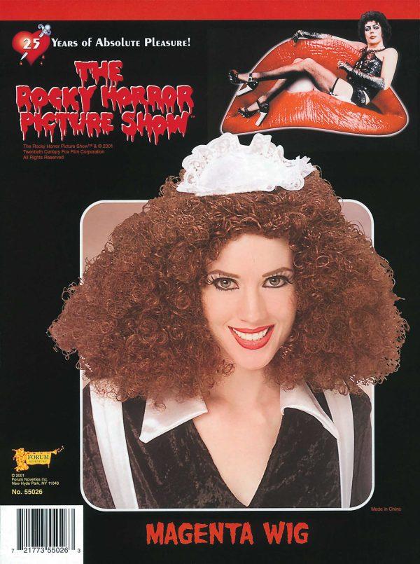 Magenta Wig from Rocky Horror
