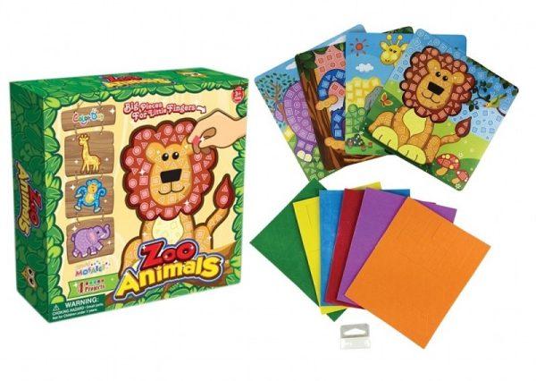 Jungle Animal Mosiac Art Set