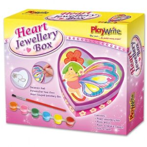 Paint Your Own Jewellery Box