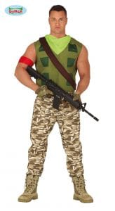 Adult Fortnite Gamer Costume Medium