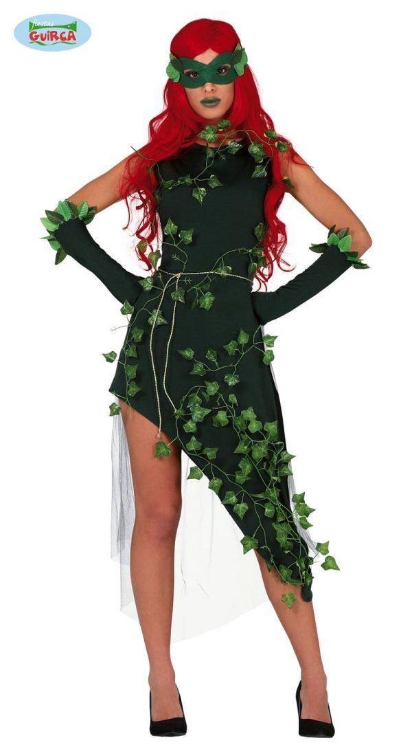 Womens Poison Ivy Villain Costume Large