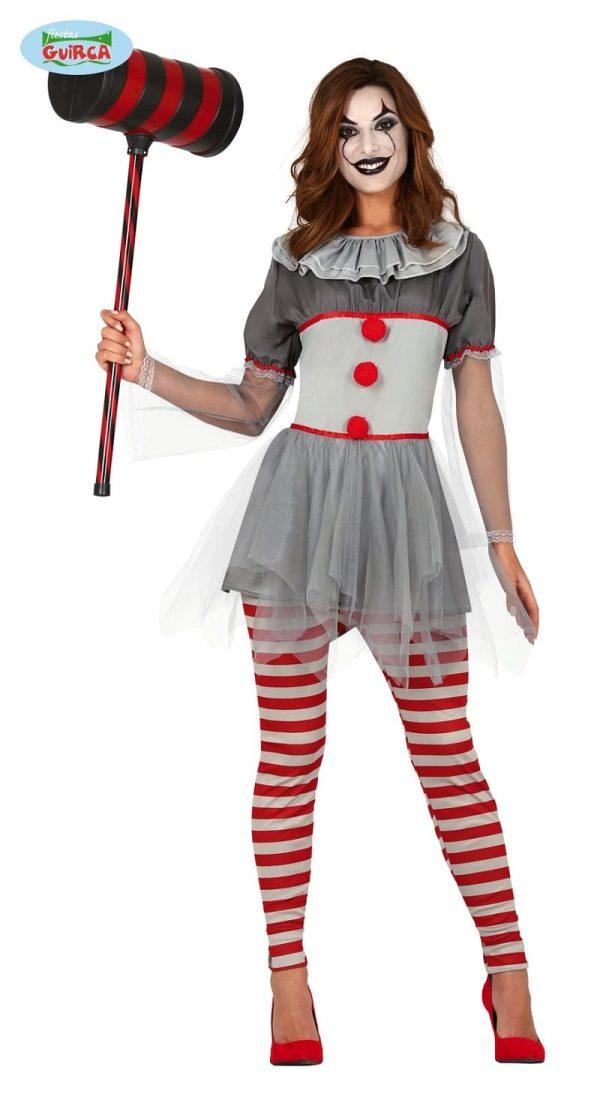 Womens Clown IT Costume Medium