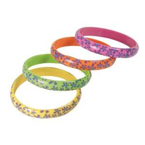 Flowery Hippie Bracelets