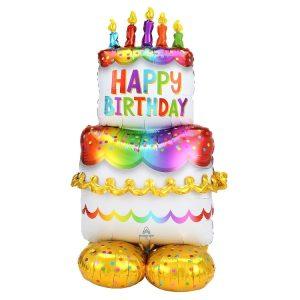 Happy Birthday Cake Airloonz