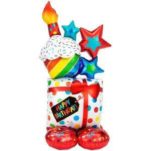 Happy Birthday Display Airloonz