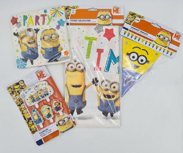 Minions Partyware