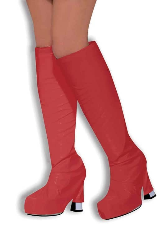 Red Boot Tops