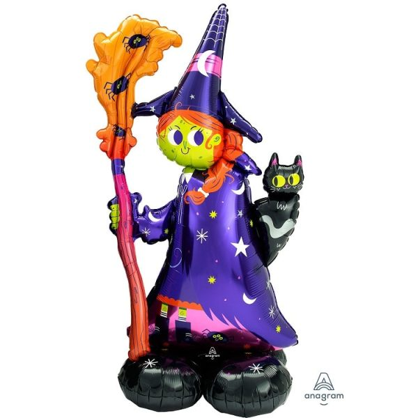 Scary Halloween Witch Airloonz