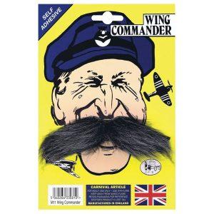 1940s Style Wing Commander Moustache