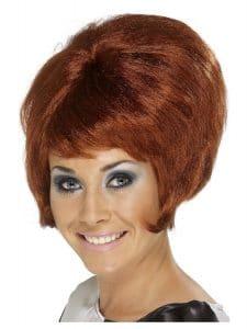 1960s Auburn Beehive Wig