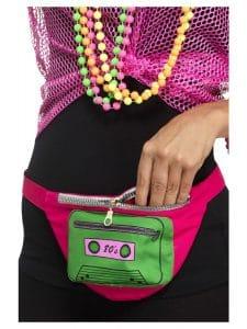 1980s Multi Coloured Bumbag