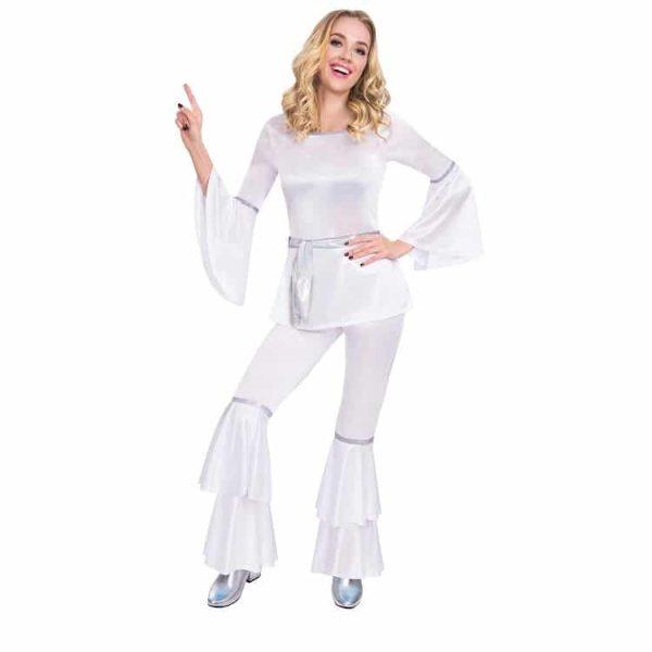 Abba 1970s Dancing Diva Costume for Women
