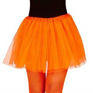 Adult Orange Neon Tutu