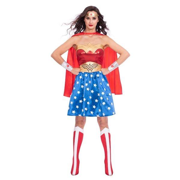 Adult Womens Official Warner Bros DC Comics Licensed Wonder Woman