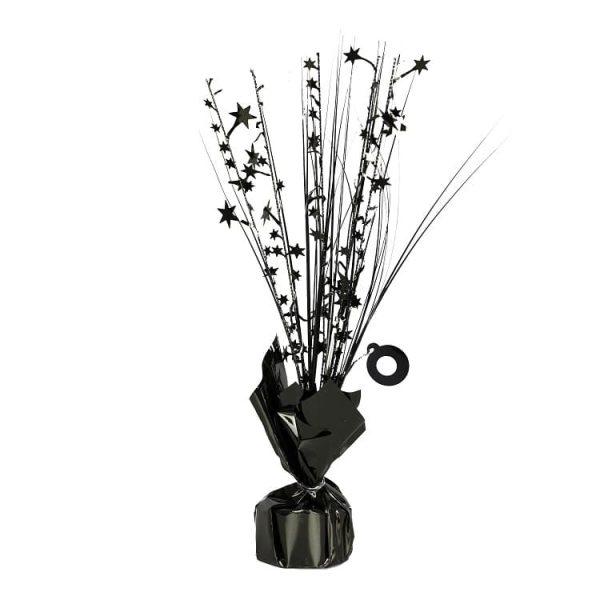 Black Spray Table Centrepiece Balloon Weight