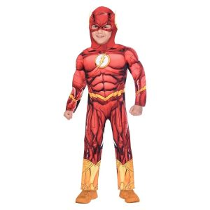 Boys Flash Costume Age 4-6 Years