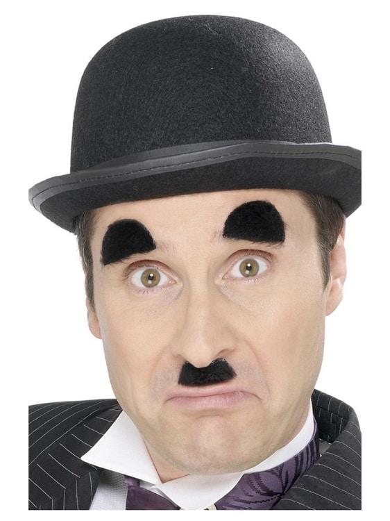 Charlie Chaplin Eyebrow And Moustache Set