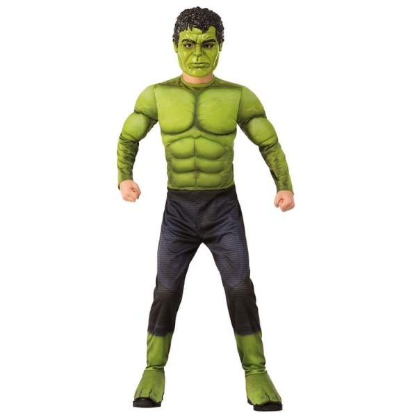Childrens Muscle Chest Incredible Hulk Age 3-4