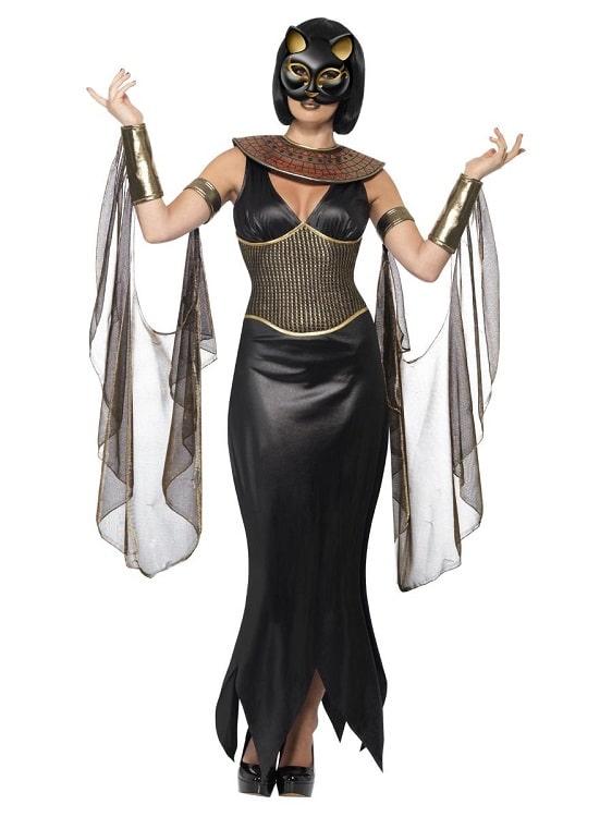 Egyptian Cat Goddess Costume Small