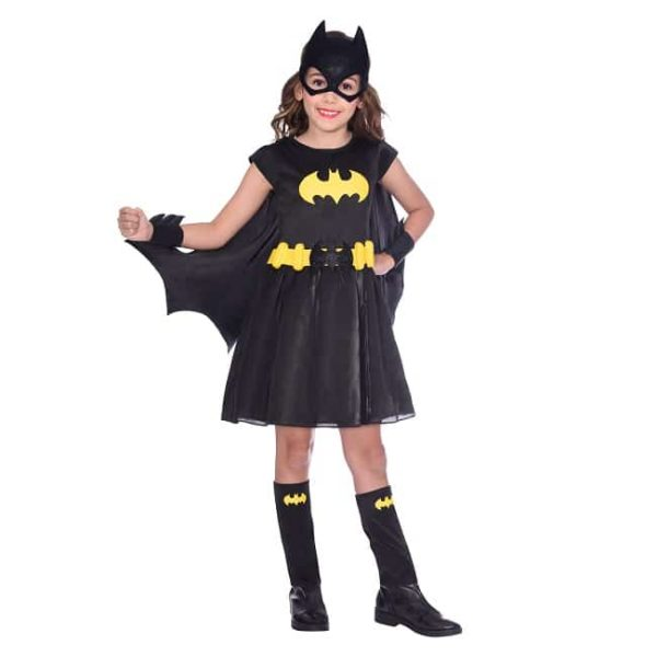 Girls Batgirl Costume Age 8-10