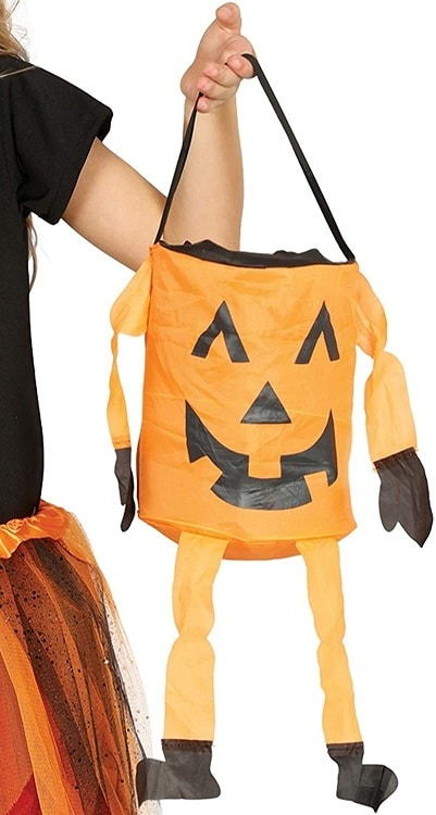 Halloween Trick or Treat Pumpkin Bag 20 Cm