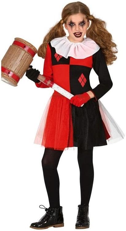 Harlequin Horror Costume 10-12